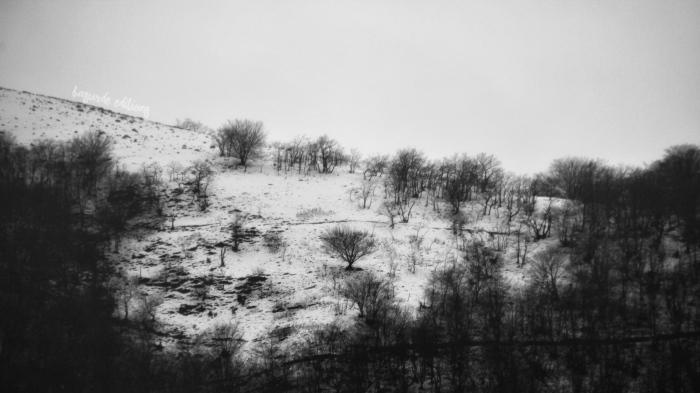 senderismo nieve basurde