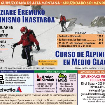 alpinismo glaciar