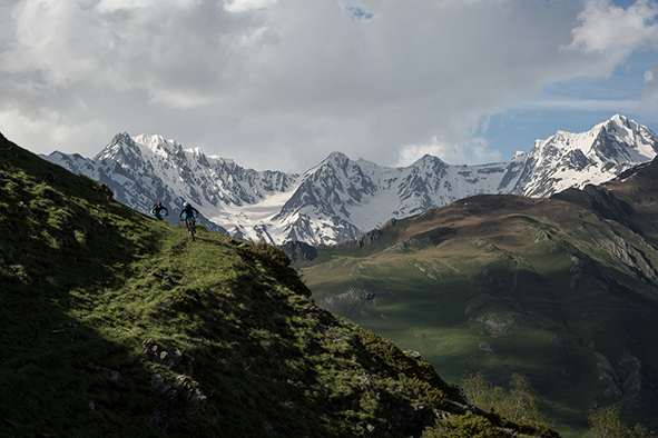 The Trail to Kazbegi