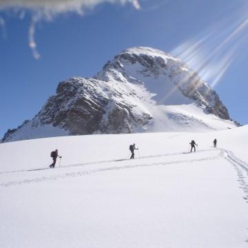 esqui-travesia