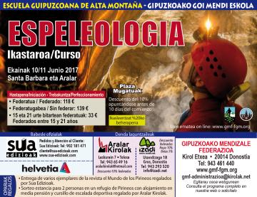 Curso de Espeleologia