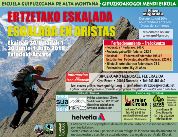 Curso Escalada Aristas