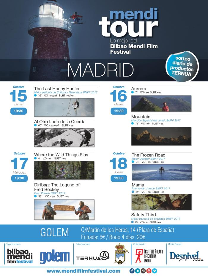 Mendi Tour Madrid 2018